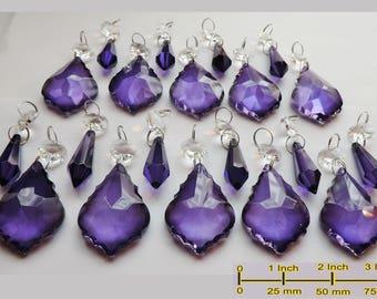 Purple chandelier | Etsy