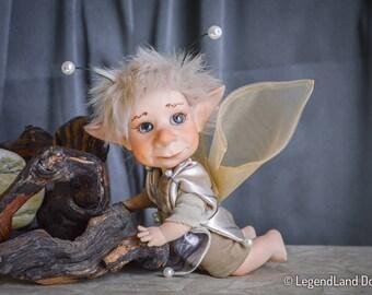 Fairy doll Grandmother Gift grandma gift fairy boy porcelain doll fairy decorations fairy figurine art dolls handmade doll LIMITED EDITION