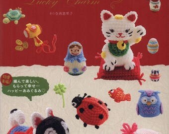 Lucky Charm Amigurumi - PDF ebook - Crochet ebook - Instant download - Crochet patterns - japanese craft ebook