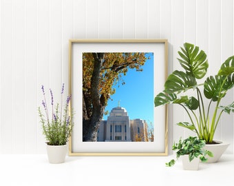 MERIDIAN IDAHO LDS Temple // 5 Sizes // Instant Digital Download