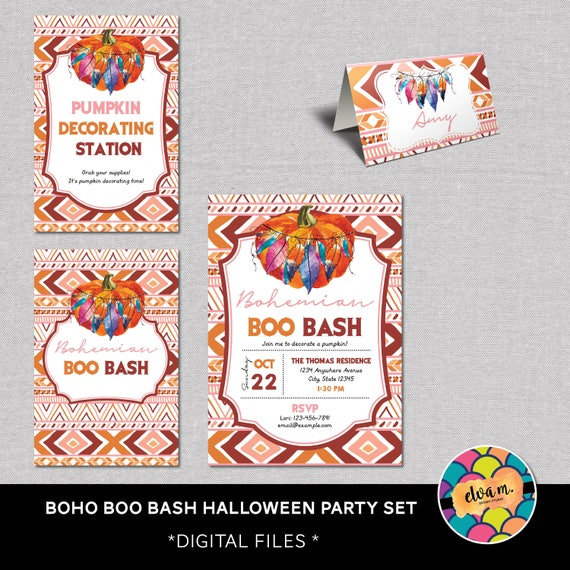 Boo Bash Party Set