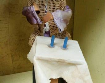 Handmade Israel Religious Doll