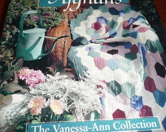 Vintage Country Afghans The Vanessa Ann Collection Book