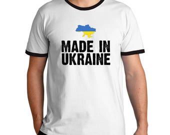 Made in Ukraine Ringer T-Shirt