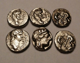 Ancient Coin Copies 6 Total