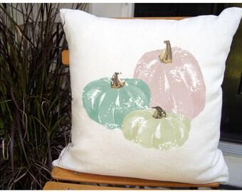 Farmhouse Fall Art. Farmhouse Fall. Fall Pumpkin Pillow. Fall Pillow Cover.