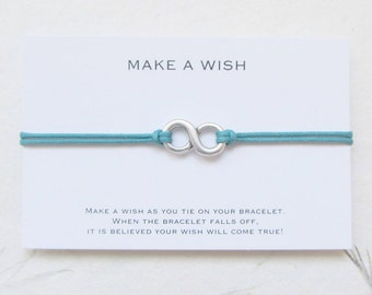 Infinity bracelet, wish bracelet, friendship bracelet