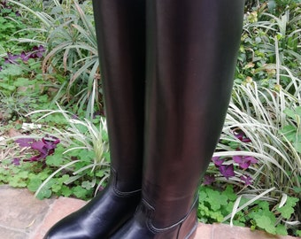 Tall Riding Boots, Leather Equestrian Boots, Leather Riding Boots, English Riding Boots, Made to Measure Riding Boots, Holidays SALE