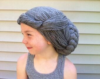 Grey wig, Gray wig, Statue costume wig, Weeping angel wig, Granny wig, Angel costume, Granny costume, Old person wig, 100th day of school