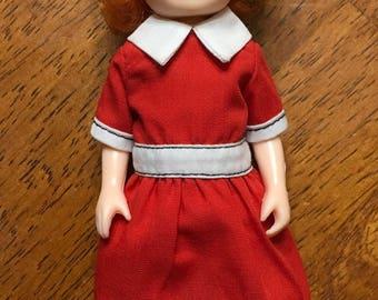 1982 knickerbocker 6 inch Annie doll