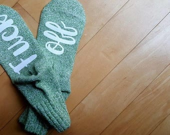 Funny socks - Socks with sayings - Fuck off socks - Wine Socks -  Funny Gift - Gag gift - Socks - comfy socks - If you can read this