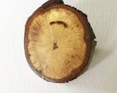 SALE Takke broche // Eik hout speld, houten statement broche, natuurlijk medium, roestvrij staal