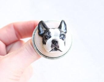 Custom portrait, personalized jewelry, custom pet portrait, personalized dog, dog illustration, custom dog jewelry, custom illustration