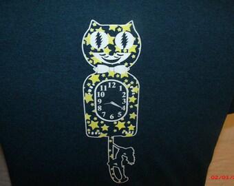 Grateful Dead shirt. Jerry Garcia Band shirt. JGB shirt. Cats Under the Stars shirt.