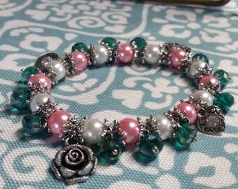 Disney's Enchanted Giselle Inspired Charm Bracelet