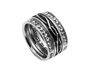 "Tiara Ring ""Serenity"""