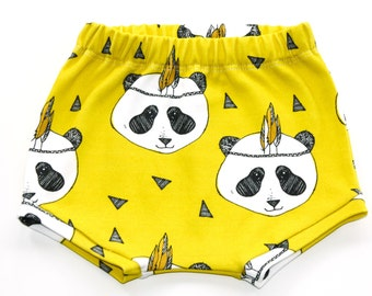 Baby boy shorts, baby girl shorts, organic cotton shorts, toddler shorts, baby shorties, shorties, kids shorts, summer shorts, yellow shorts