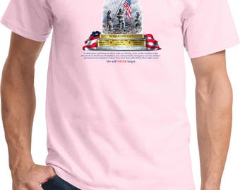 Men's 9-11 Never Forget Tee T-Shirt 06328HL2-PC61
