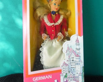 Mattel Dolls of the World German Barbie Doll