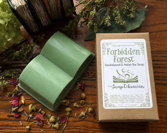 Forbidden Forest Bar Soap - Handcrafted Soap - Literary Gift for Readers