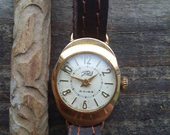 Vintage 1958, Minimalist women's watch, Zarja , Zaria, Women wrist watch, Russian watch, Zarja women, Soviet watch, Ussr, zarja, Women watch