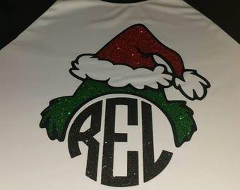 Raglan christmas shirts