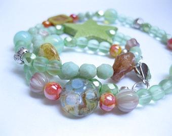 Bracelet, bracelet, Bead Bracelet, Czech glass beads, glass beads, women