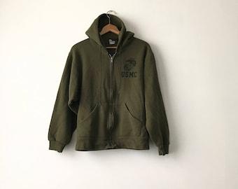 MARINES HOODIE // 90s // Small // Marines Sweatshirt // Marines Hoodie // Usmc // Usmc Hoodie / Marines Sweatshirt / Marines Hoodie / Hoodie