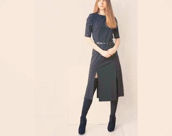 Dress Gill + patent belt