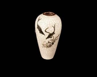 Vintage small porcelain vase