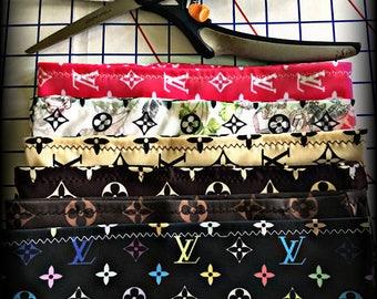 LV Monogram Inspired 6 Piece Headband Pack
