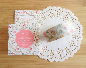 Planner Accessories: Floral Washi Tape - for Planners & Scrapbooks
