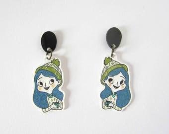 Hygge girls earrings