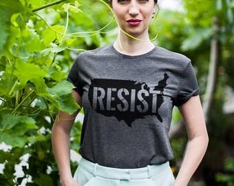 Anti trump shirt / Anti trump tshirt / Anti trump t shirt / Anti Trump t-shirt / Anti Trump tees / Resist shirt / Resist tshirt /