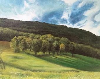 Field of Trees 2015 - Original