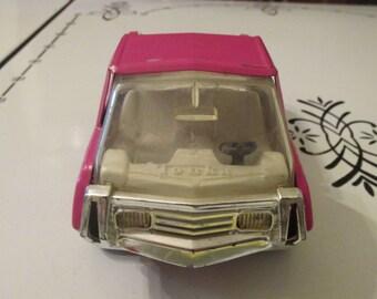 Tonka Truck, Pressed Metal, Pink Pick Up, 1970's Vintage Toys for Kids, Trucks
