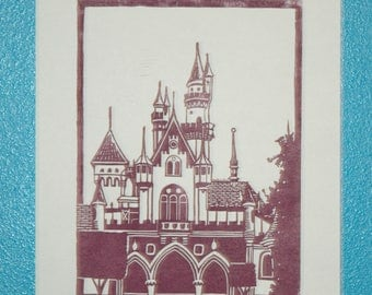 Once Upon a Dream: Castle Print