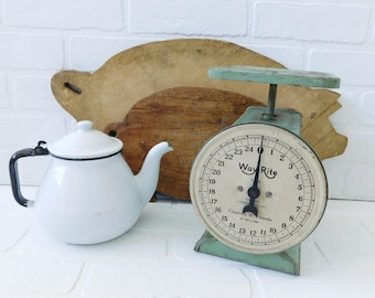 Vintage Way Rite Scale, Green Scale, Farmhouse Chic, Farmhouse Scale, Fixer Upper
