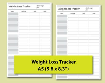 Comprehensive image with weight watchers tracker printable
