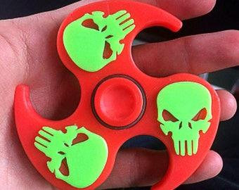 Skull Ninja shuriken fidget spinner
