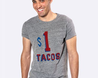 Taco Shirt Mens and Womens  Sizes, Fun for Taco Tuesday Party Tri Blend Tee
