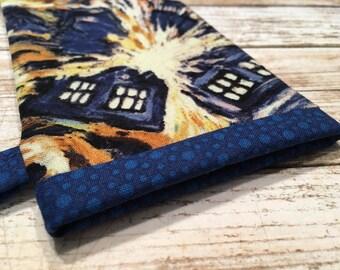 Doctor Who Sunglasses Case - Eyeglasses Case - Glasses Case - TARDIS Glasses Case - Doctor Who Glasses Case - Doctor Who Gift