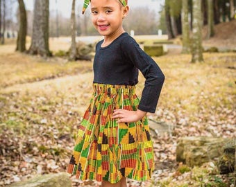African Kente Skirt Set, Black History Month, Maxi, Girls Skirt, African Skirt, African Clothing, Baby Clothes,African Outfit