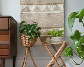 vintage plant stand etsy. Black Bedroom Furniture Sets. Home Design Ideas