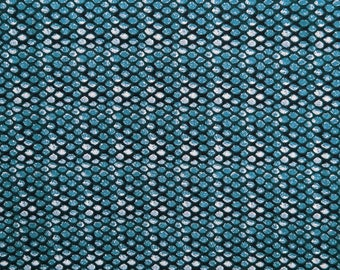 "Blue Printed Fabric, Home Decoration, Apparel Fabric, Craft Fabric, Sewing Supplies, 47"" Inch Cotton Fabric By The Yard ZBC7470A"