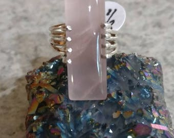 Rose Quartz Ring, Size 6 1/2