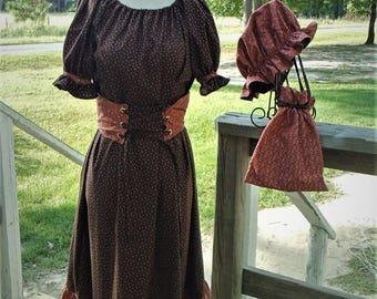 Girls pioneer dress   Etsy