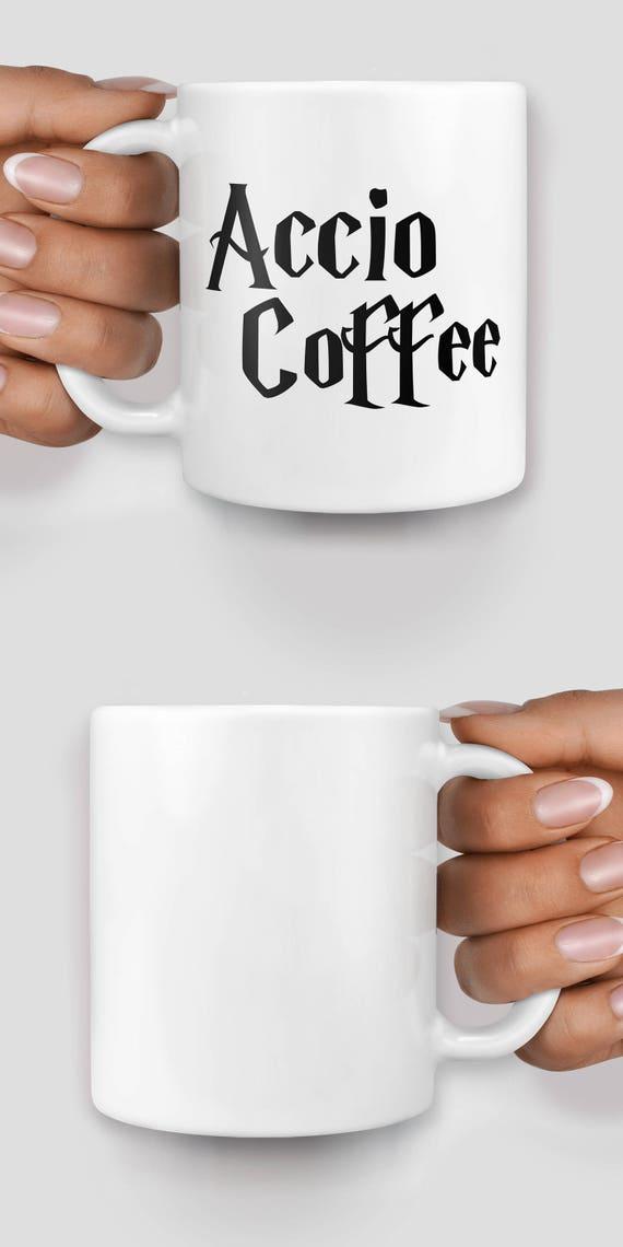 Accio Coffee Harry P inspired mug - Christmas mug - Funny mug - Rude mug - Mug cup 4P066