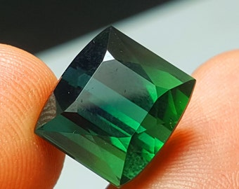 11 Carat Greenish Color Loose Gemstone Tourmaline @ Afghanistan 12*10*8mm