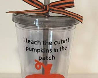 Easter tumbler cup easter basket easter gift tumbler cup preschool teacher gift teacher giftmonogrammed pumpkin tumbler cup personalized gift halloween negle Images